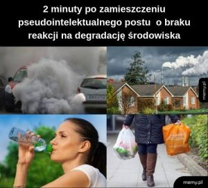 Smog i plastik - Lubię to!