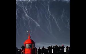 Surfowanie na gigantycznej fali