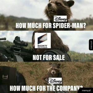 Disney vs Sony