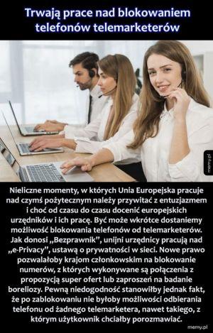 Blokowanie telemarketerów
