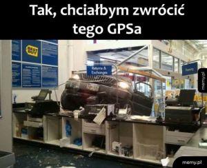 Błędny GPS