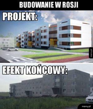 Rosyjskie budownictwo