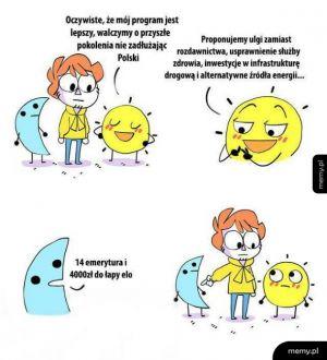 Polska polityka w jednym komiksie