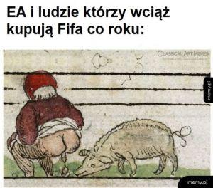 Osoby które kupują FIFA każdego roku, są powodem, dla którego EA nadal istnieje.