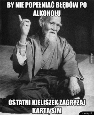Błędy po alkoholu