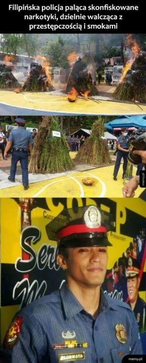 Filipińska policja