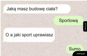 Sportowa budowa ciała