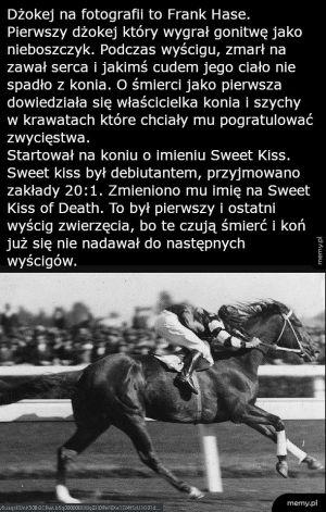 Słodki pocałunek śmierci