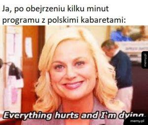 Polskie kabarety :(
