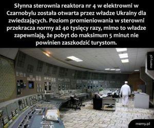 Sterownia  w Czarnobylu