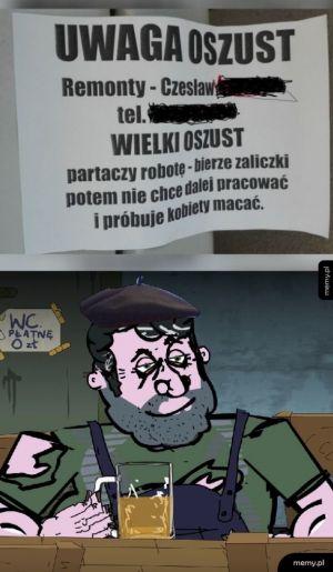 Pan Wieso w akcji