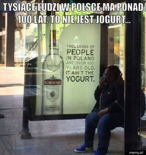 To nie jest jogurt...
