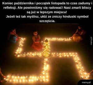Hinduski Symbol Szczęścia