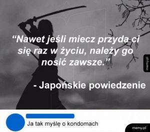 Japońskie powiedzenie