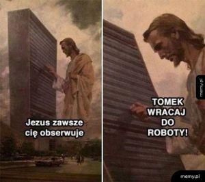 Jezus obserwator