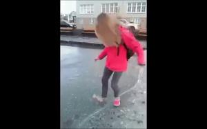 Cienki lód