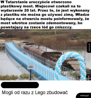 Plastikowy most