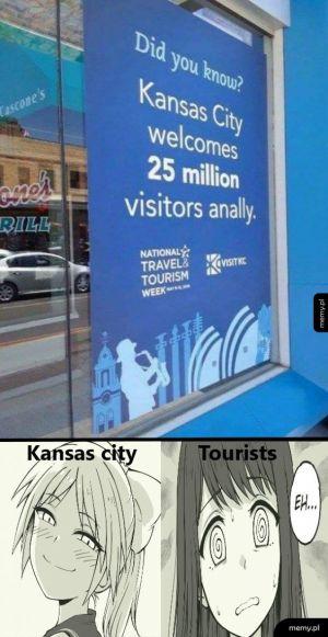 Kansas wita gości