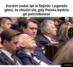 Legenda o śpiącym Korwinie