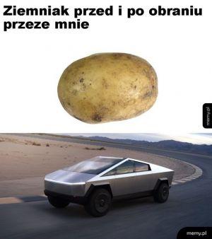 Obieranie ziemniaków