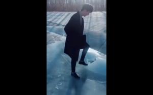 Tylko połamię lód