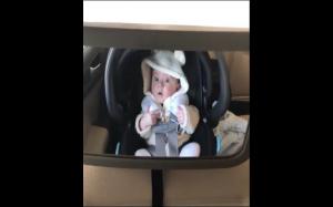 Reakcja dziecka na myjnie samochodową