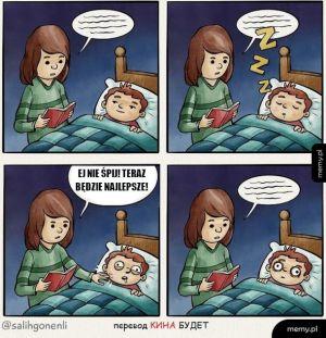 Czytanie na dobranoc