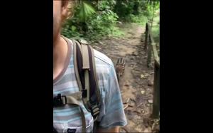 Fotograf i jego mały stalker