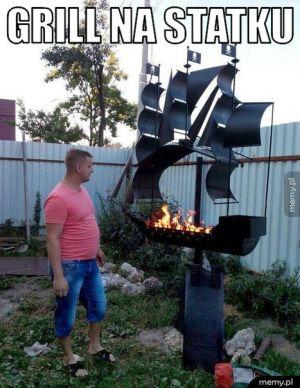 Grill na statku