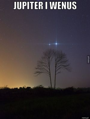 Jupiter i wenus