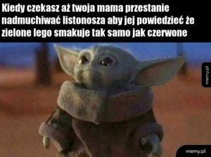 Mały Yoda meme