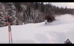 Naturalny pług śnieżny