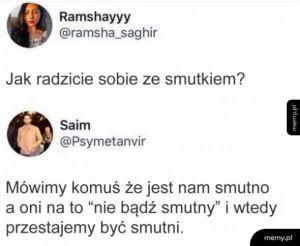 Smutek