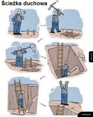 Ścieżka, w której kończysz dokładnie w tym samym miejscu, w którym zacząłeś.