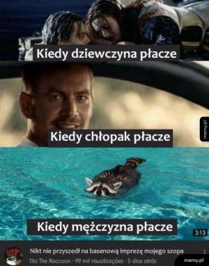 Łzy mężczyzny