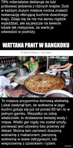 Jedzenie w Bangkoku