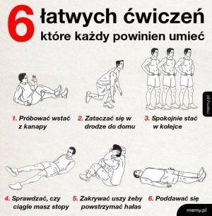 Niezbędne ćwiczenia