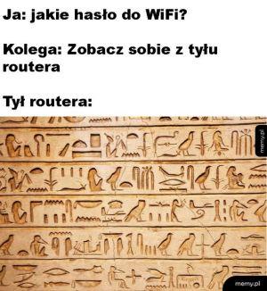 Hasło do WiFi