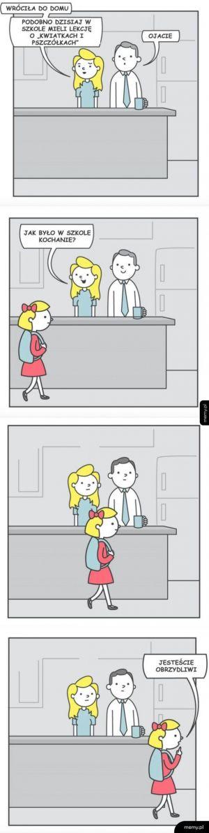 Wychowanie seksualne.