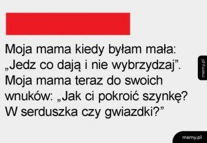 Mama kiedyś i dziś