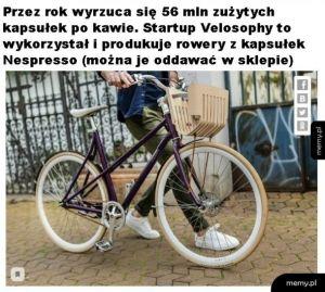 Rowery z kapsułek