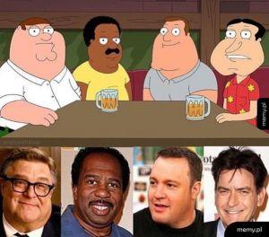 Family Guy w prawdziwym życiu