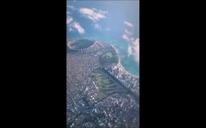 Hawaje z samolotu