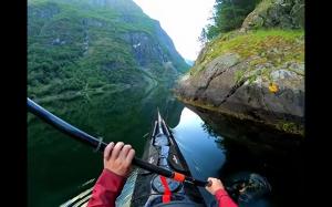 Norwegia kajakiem
