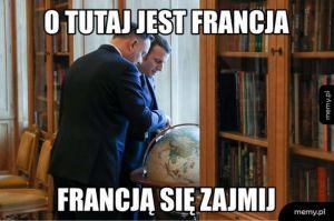 Prezydent Duda odpowiada na troskę prezydenta Francji w przedmiocie praworządności w Polsce :)