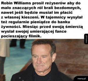 Świetny aktor i człowiek