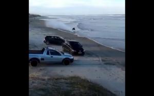 Plaża i motory