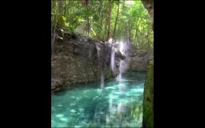 Piękna rzeka w Cancun