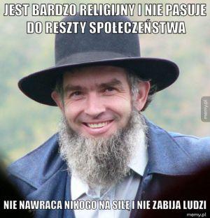 Dobry ziomek Amisz