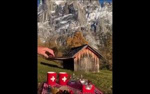 Piękne widoki w Szwajcarii
